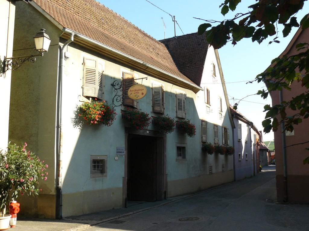 Domaine GINGLINGER Jean - 6 Rue du Fossé 68250PFAFFENHEIM