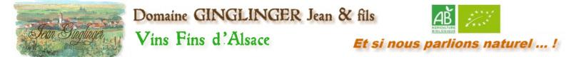 Domaine GINGLINGER Jean & Fils